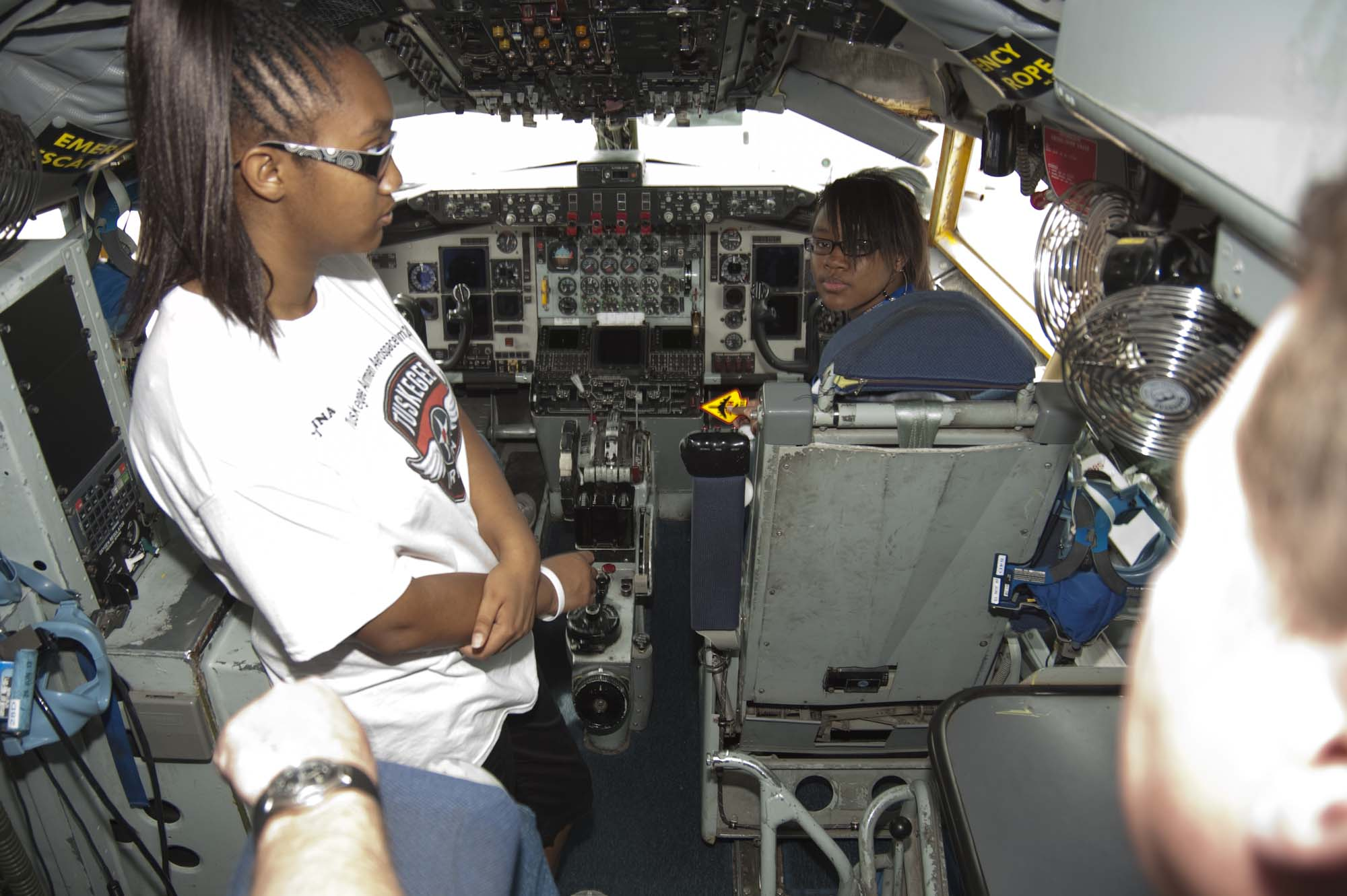 2013_06_19 – Tuskegee Airmen Camp – KC-135 Tour-2970