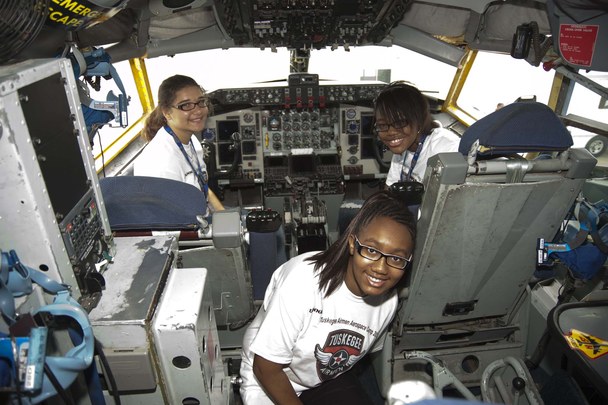 2013_06_19 – Tuskegee Airmen Camp – KC-135 Tour-2974
